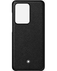 Montblanc Custodia Rigida Sartorial Per Telefono Samsung Galaxy S20 Ultra - Nero