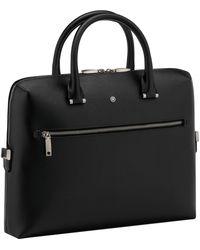 Montblanc 4810 Westside Slim Document Case Business Bag Black