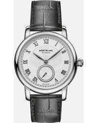Montblanc Star Legacy Small Second 36 Mm - Metallizzato