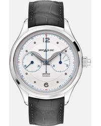 Montblanc Heritage Monopusher Chronograph - Grau