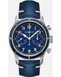 Montblanc 1858 Automatic Chronograph - Blau