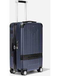Montblanc #my4810 Trolley De Cabina Compacto - Azul