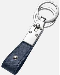 Montblanc Sartorial Schlüsselanhänger Mit Schlaufe - Blau