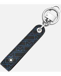 Montblanc Portachiavi M_gram 4810 Con Passante - Blu