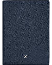 Montblanc Porte-passeport Sartorial - Bleu