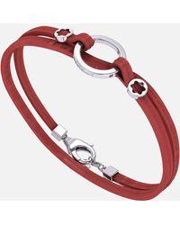 Montblanc Wrap Me Armband - Rot