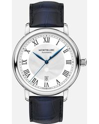 Montblanc Star Legacy Automatic Date 42 Mm - Blu