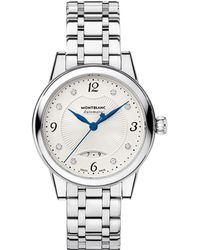 Montblanc - Bohème Date Automatic Watch 30 Mm Women Stainless Steel - Lyst