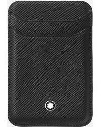 Montblanc Sartorial Kartenbrieftasche 2 Cc Für Die Apple Iphone 12 Serien Mit Magnet - Schwarz