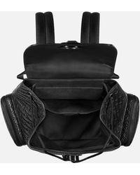 Montblanc M_gram 4810 Rucksack Mit Emblem-schließe - Schwarz