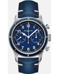 Montblanc 1858 automatic Chronograph - Bleu
