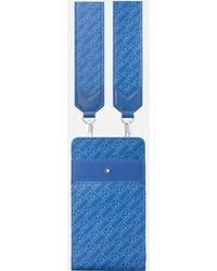 Montblanc Sac Pochette Mini Format M_gram 4810 - Bleu
