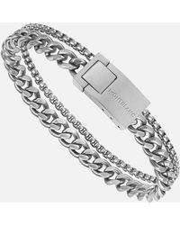 Montblanc Wrap Me Armband Mit Einzelketten - Mettallic