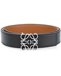 Loewe Logo Anagram 3.2 Belt - Black