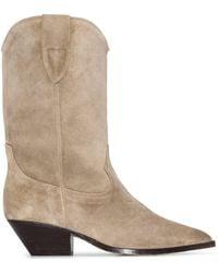 Isabel Marant Boots Dove Gray