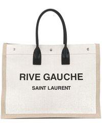 Saint Laurent Borsa Noe - White