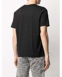 Saint Laurent T-shirt VHS Sunset - Nero