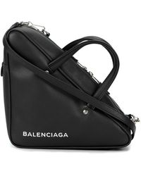 Balenciaga Triangle Duffle Bag - Black