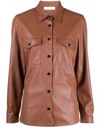 Glanshirt Shirt - Brown