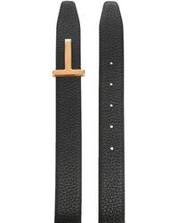 Tom Ford - Cintura Logo - Lyst
