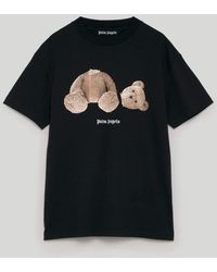 Palm Angels T-shirts And Polos Black