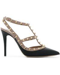 Valentino Garavani Court Shoes Rockstud - Black