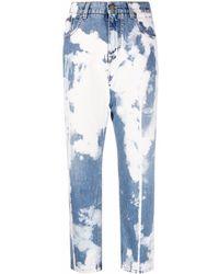 Tom Ford Acid-wash Straight Jeans - Blue