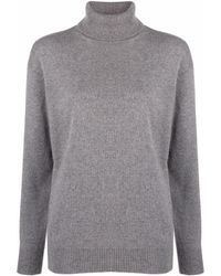 Tom Ford Roll-neck Cashmere Knitted Jumper - Grey