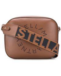 Stella McCartney Mini Stella Logo Camera Bag - Brown