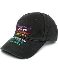 Balenciaga Cappello Baseball - Black