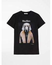 Max Mara Dogstar T-shirt - Black