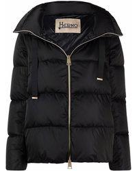 Herno Puff Coat - Black