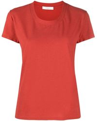 Zanone Slim-fit Cotton T-shirt - Red