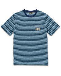 Howler Brothers Zuma Jacquard T-shirt - Blue