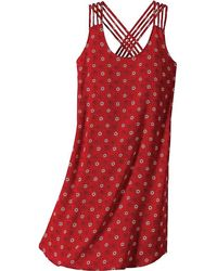 cd97d185cb Lyst - TOPSHOP Emma Tie Sleeve Wrap Dress in Red