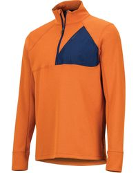 Marmot - Hanging Rock 1/2 Zip Top - Lyst