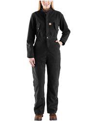 Carhartt 103382 Wildwood Coveralls - Black