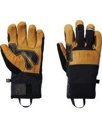Mountain Hardwear Exposure Light Gtx Glove - Black