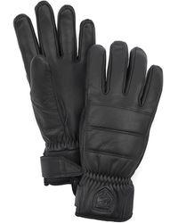 Hestra Alpine Leather Primaloft Glove - Black