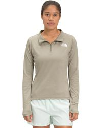 The North Face Riseway 1/2 Zip Top - Gray