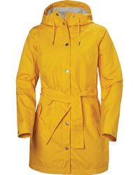 Helly Hansen Lyness Ii Coat Rain Jacket Yellow