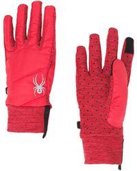 Spyder Solitude Hybrid Glove - Red
