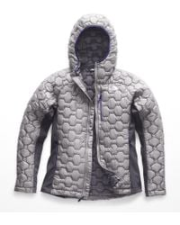 The North Face Impendor Thermoball Hybrid Hoodie - Gray