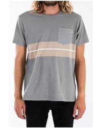 Katin Venice Pocket Knit Shirt - Gray