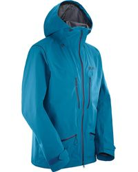 Yves Salomon Synthetic S lab Qst Gtx Hooded Jacket in Purple