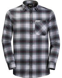 Jack Wolfskin Light Valley Shirt - Gray