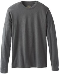 Prana Ls T-shirt - Gray