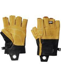 Mountain Hardwear Hardwear Fl Belay Glove - Black