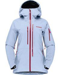 Norrøna Lofoten Gtx Pro Jacket - Blue