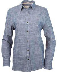 Purnell - Classic Chambray Ls Shirt - Lyst